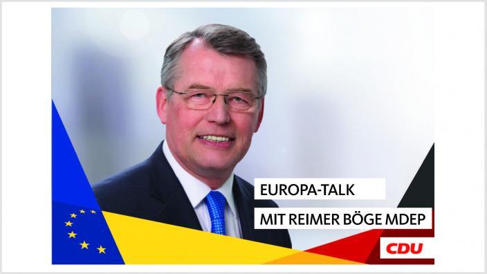 Europa-Talk mit Reimer Böge