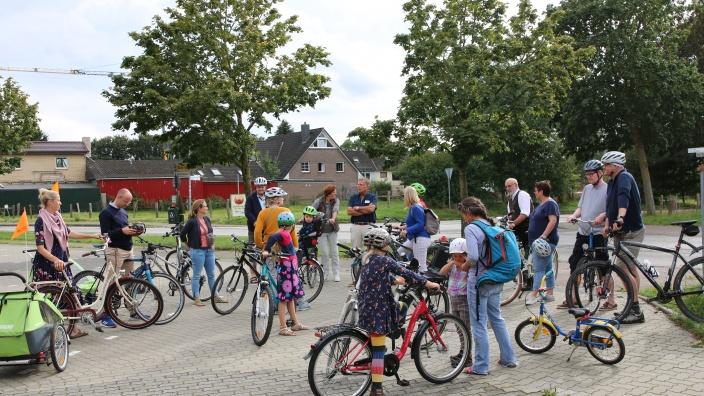 Fahrradexkursion mit Bürgermeister Hans-Ulrich Frank